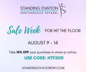 Standing Ovation Sales Week